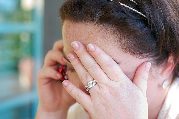 Photot of Woman Using Phone
