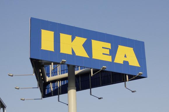 Photo of IKEA Sign