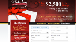 Holiday  Cash Lender logo