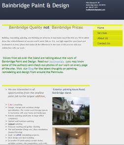 Bainbridge paint and design complaints scambook for Bainbridge design