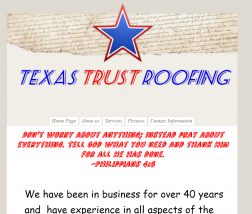 Texas Trust Roofing logo