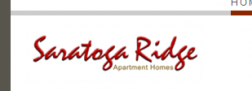 Saratoga Ridge Apartments logo