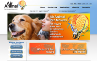Air Animal Pet Movers logo