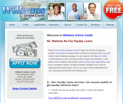 Williams Online Credit logo