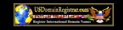 US Domain Registrar logo