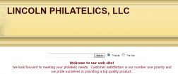 Lincoln Philatelics logo