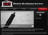 District Restitution Services logo