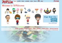 Yoville on Facebook logo