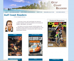 Gulf Coast Readers logo