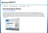 Backup Duty Lite logo