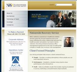 NATIONWIDE RECOVERY logo