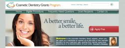 Cosmetic Dentistry Grants Program logo