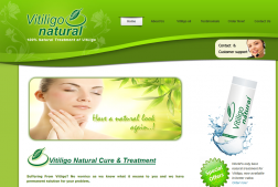 Vitiligo Natural logo