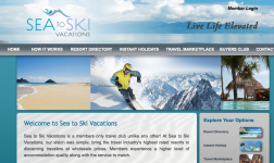 Sea to Ski Vacations logo