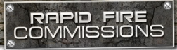 Rapid Fire Commissions logo