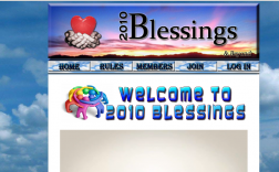 2010 Blessings  - Jon Scherling logo