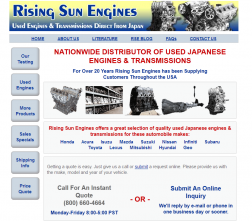 Rising Sun Engines logo