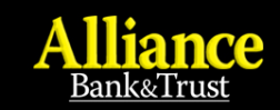 NITRO Finance/Alliance Bank & Trust/Express Courier Dispatchers logo