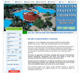 Vacation Property Liquidators logo