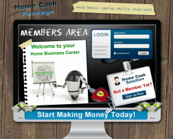 Home Cash Package logo