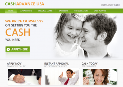 Cash Advance USA logo