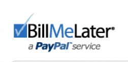 Bill me later <Service@paypal.com> logo