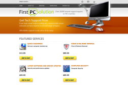 First PC Solution logo