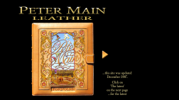 Peter Main Leather Art Gallery logo