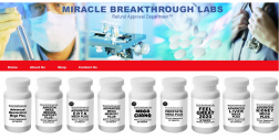 Miracle breakthrough labs logo