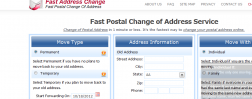 Fast Address Change Service logo