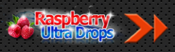 Raspberry Ultra Drops logo