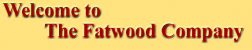 The Fatwood Company logo